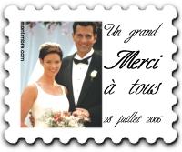 ci dessous vous trouverez quelques exemples de timbres mariages personnaliss - Timbres Personnaliss Mariage