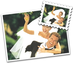 le timbre mariage - Timbres Personnaliss Mariage