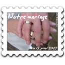 Timbres mariage